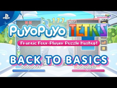 Puyo Puyo Tetris: Back to Basics Trailer | PS4