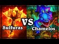 Chamelos VS Sulfuras ~ The Witchwood Hearthstone Heroes of Warcraft