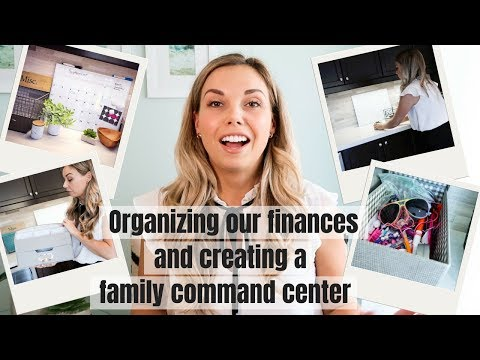 BACK TO SCHOOL – ORGANIZING FINANCES & A FAMILY COMMAND CENTER | Nesting Story