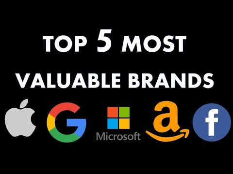 TOP 5 MOST VALUABLE BRANDS & WHY I AM WORRIED!!!