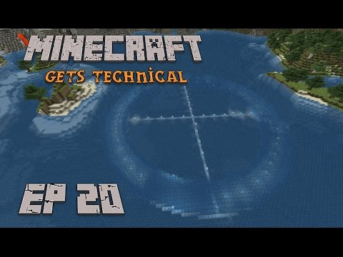 Sealing the Underwater Torus Ep 20 Minecraft Gets Technical