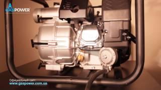 Водяной насос (мотопомпа) Hyundai HYT80 на газе