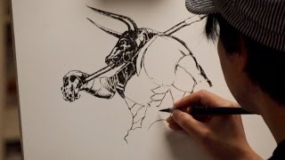 Live Drawing of