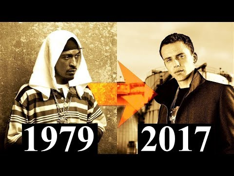 The Evolution Of Hip-Hop 2 [Timeline 1979 - 2017]