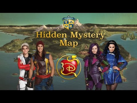 Disney's Descendants: Hidden Mystery Map (Search & Find Gameplay)