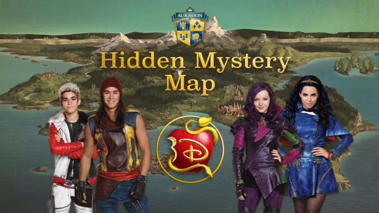 Disney's Descendants: Hidden Mystery Map (Search & Find Gameplay ...