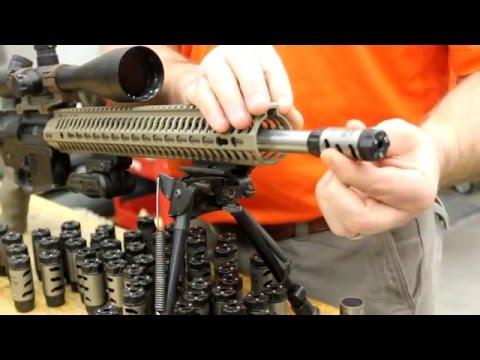 Odin Works ATLAS 9 Modular Adjustable Compensator Muzzle Brake 9MM 1//2-36 TPI