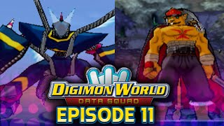 Digimon World Data Squad - Ep 11 - BanchouLeomon & DarkDramon - Optional Boss