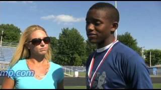 Fastest Man - Freshmen - Darron Lee - U100 Midwest