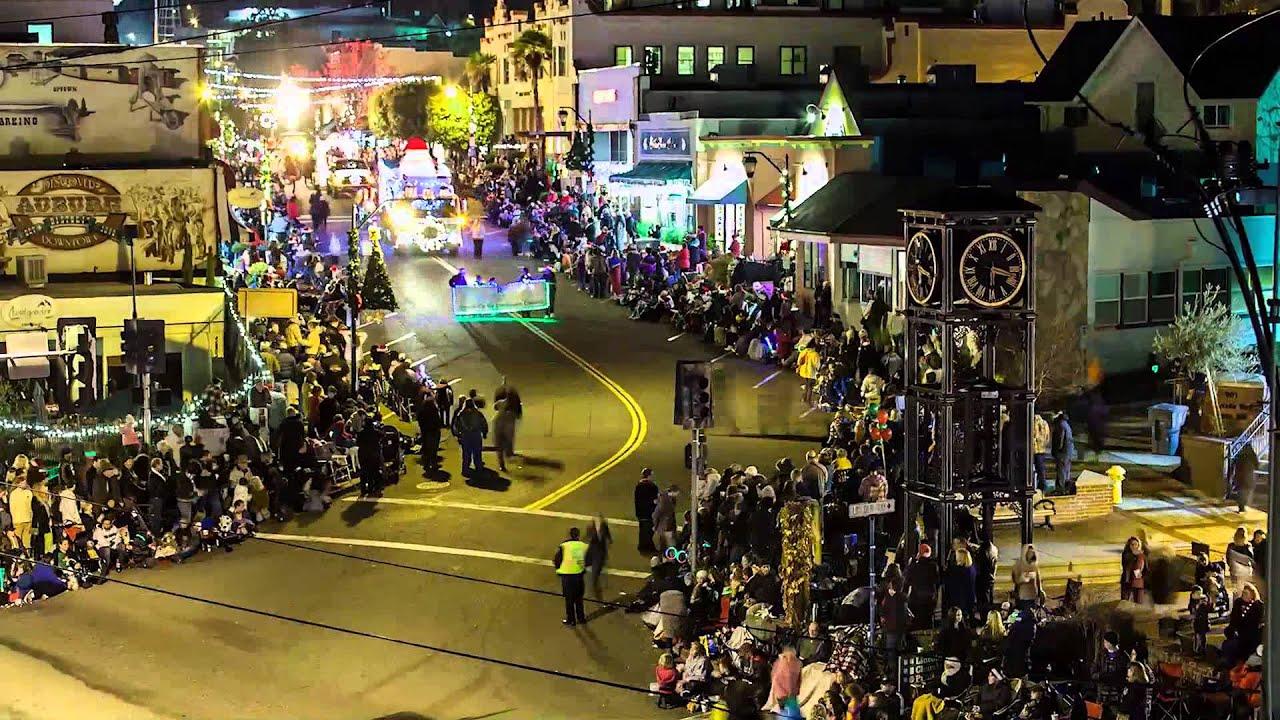 Festival of Lights parade December 2012, Auburn California - YouTube