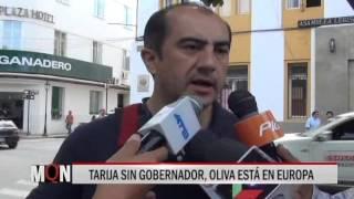 24/11/15  24:23  TARIJA SIN GOBERNADOR, OLIVA ESTÁ EN EUROPA