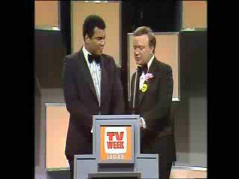 Muhammad Ali at Australian TV Awards show. (1978-ish)