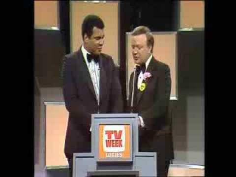 Muhammad Ali at Australian TV Awards show. (1978-ish)