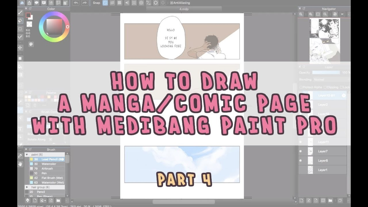 [How to Draw Manga with Medibang Paint Pro] Create a ...