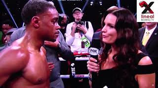 Errol Spence calls out Manny Pacquiao!, Dallas.15/03/2019