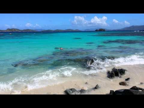 Sapphire beach, United States Virgin Islands 4K