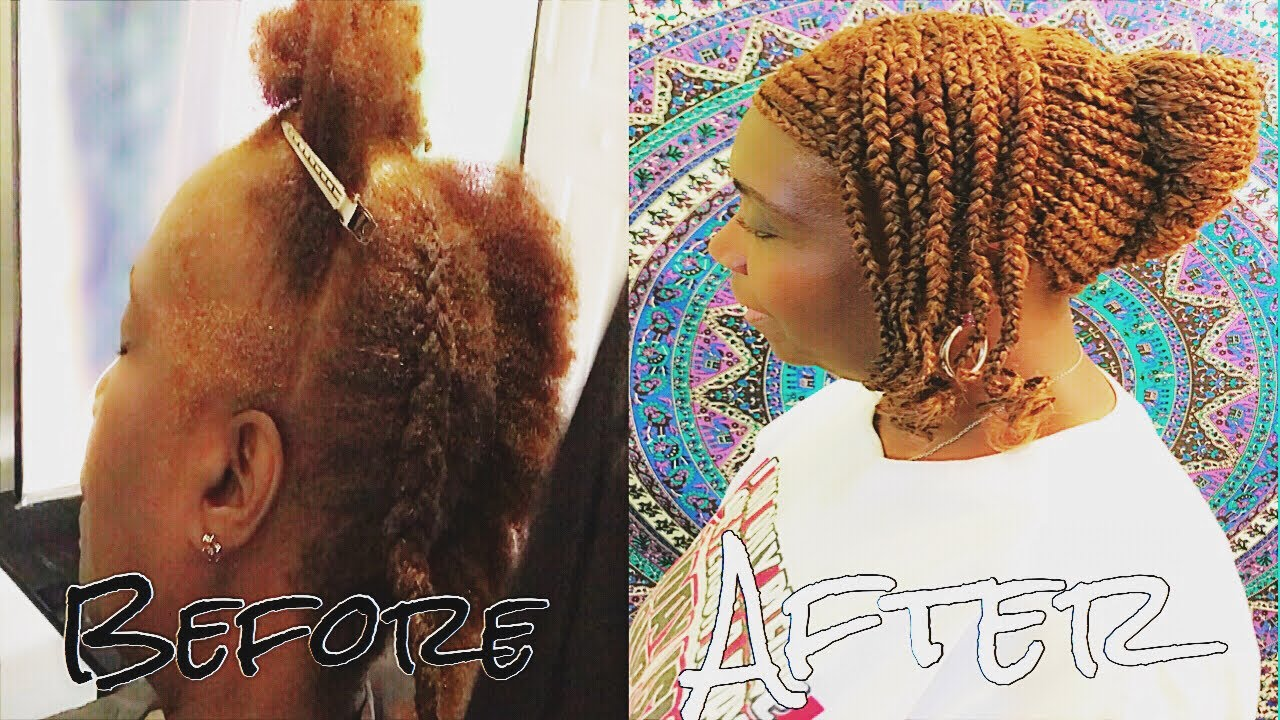 Feed in braids with out edges