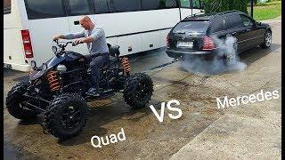Prezentacja! Quad Samoróbka 1.6TD 4x4! Homemade ATV Quad!