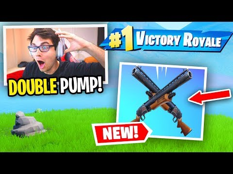 I used DOUBLE PUMP in Chapter 2 and it WORKED... (Fortnite Season 11)
