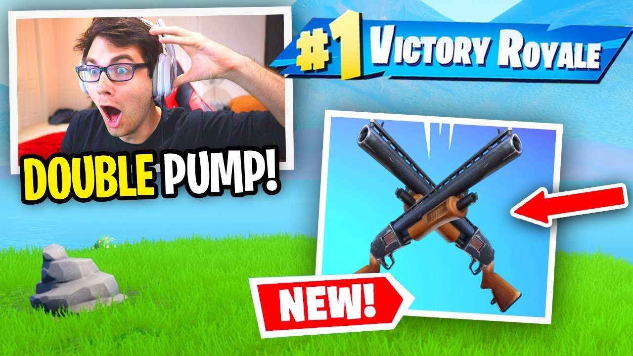 I used DOUBLE PUMP in Chapter 2 and it WORKED... (Fortnite Season 11) thumbnail