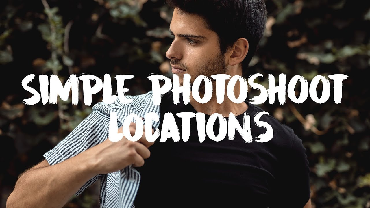 Simple Photoshoot Location Ideas - Zlog