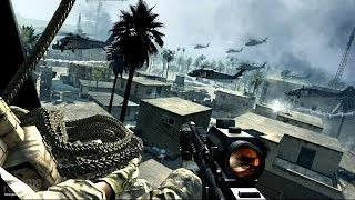 Sudden Landing Operation of the US Marine Corps in Rear of Enemy ! Call of Duty 4 MW1