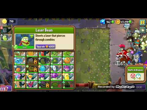 Plants Vs Zombies 2 BattleZ ( Week 32 ) 1.2mil Ghost Pepper practice game