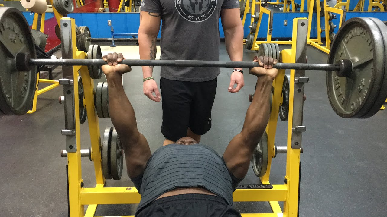 Bench Press Abs Part - 50: Letu0027s Build A Stronger Bench Press (Chest/Triceps/Abs)