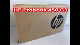 HP Probook 450 G3 Laptop Unboxing & Review after 6 month use.(Hindi)