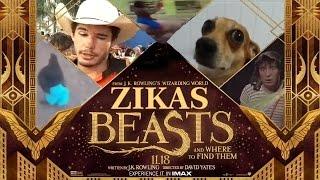 Animais ZIKAS e Onde Habitam - Trailer Épico!