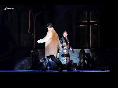 Rómeó és Júlia musical - PÁRBAJ (Paris - Kádár Szabolcs János, Rómeó - Veréb Tamás))