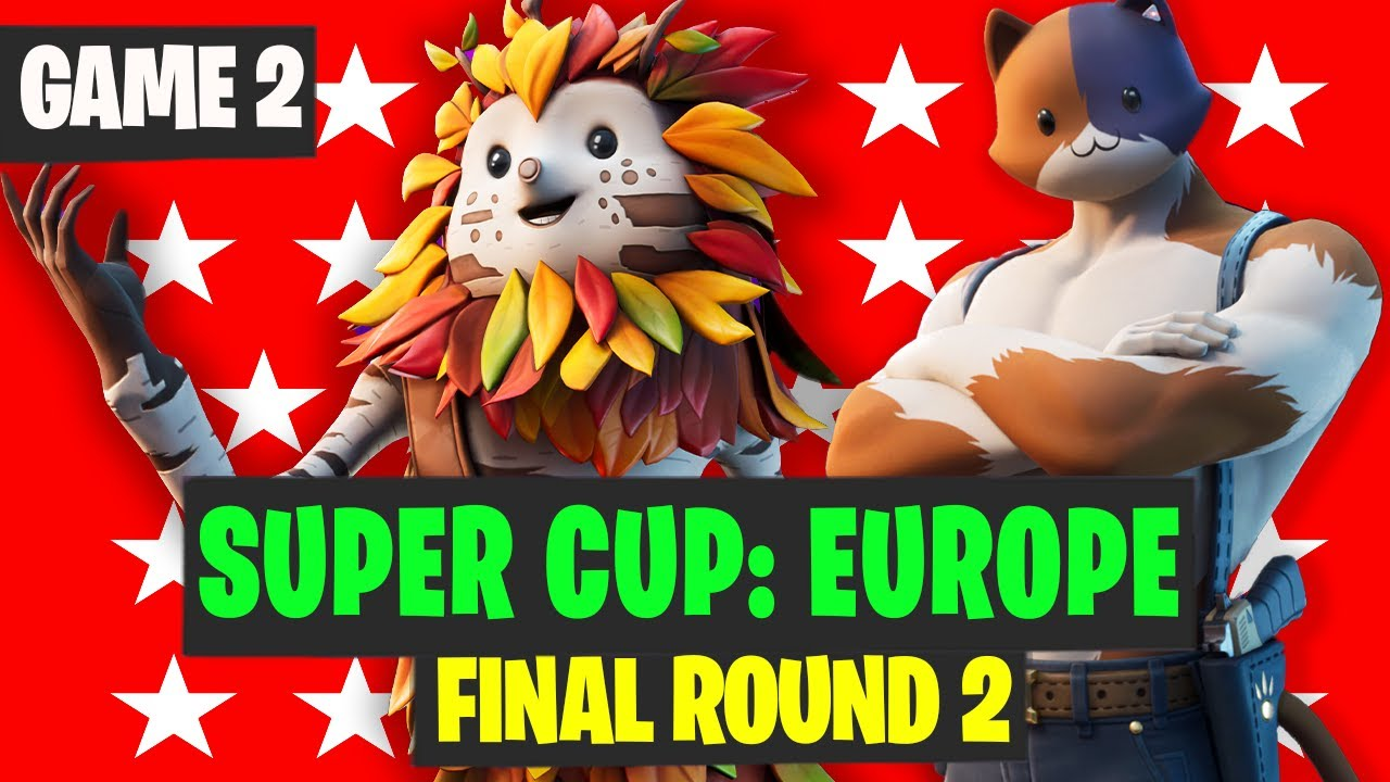 SUPER CUP EU Final Round 2 Game 1 Highlights - Marvel Cup Highlights