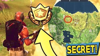 Fortnite: Search Between A Pool, Windmill And An Umbrella Location (Secret Treasure For Battle Pass)