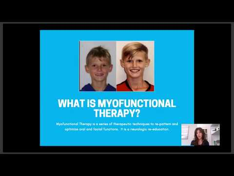 Webinar: A Speech Therapist's Approach to Myofunctional Therapy