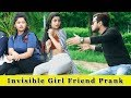 Invisible (अदृश्य) Girl Friend Prank    Prank In India 2019    Funday Pranks