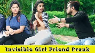 Invisible (अदृश्य) Girl Friend Prank || Prank In India 2019 || Funday Pranks