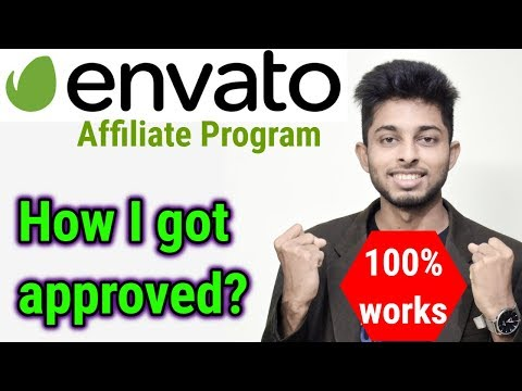 Envato Affiliate marketing tutorial for beginners | How to get approved on envato | Freelancer Nasim thumbnail