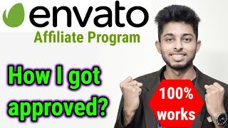 Envato Affiliate marketing tutorial for beginners | How to get approved on envato | Freelancer Nasim