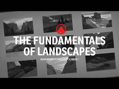 The Fundamentals Of Landscapes - Art Camp 3 Preview With Noah Bradley