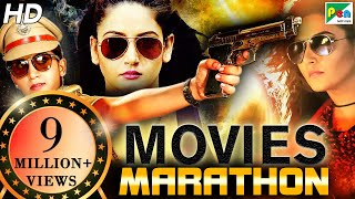Lady Don Special Marathon | South Indian Hindi Dubbed Movies 2020 | Daava, Majaal