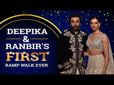 Deepika Padukone & Ranbir Kapoor set the ramp on fire for the first time | Pinkvilla