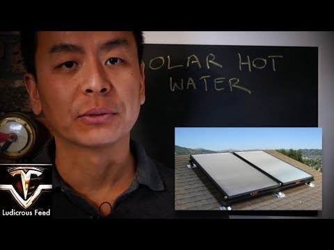 Solar Hot Water System Review | Ludicrous Feed | Tesla Tom