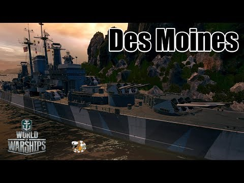 World of Warship: Des Moines, Cyclone Brawling