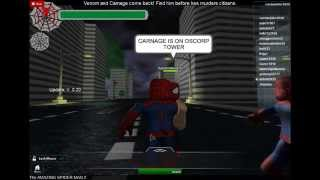 THE AMAZING SPIDER MAN 2 GAME ON ROBLOX