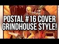 Limited palette/grindhouse-style Postal 16 cover time-lapse: A Photoshop Comic Coloring Tutorial