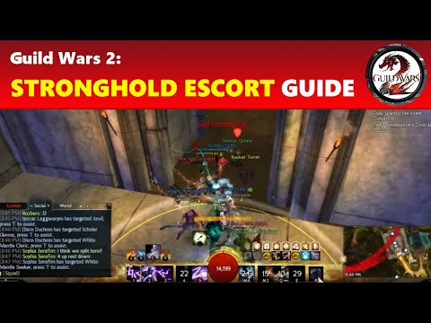 Guild Wars 2: Stronghold of the Faithful: Siege, Escort Glenna & McLeod Guide