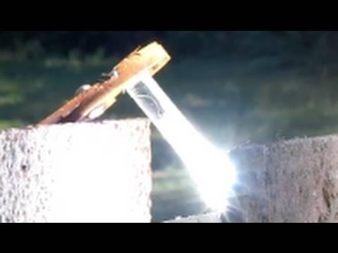 Fresnel Lens SOLAR STEAM BOILER VACUUM TUBE STEEL WOOL METAL NANOPARTICLES