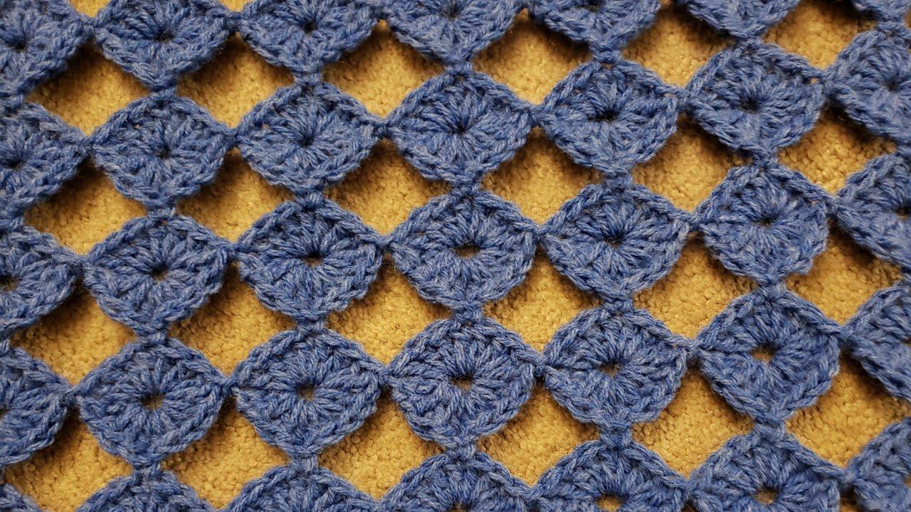 The Button Motif - Continuous & Join As You Go - Crochet Tutorial!