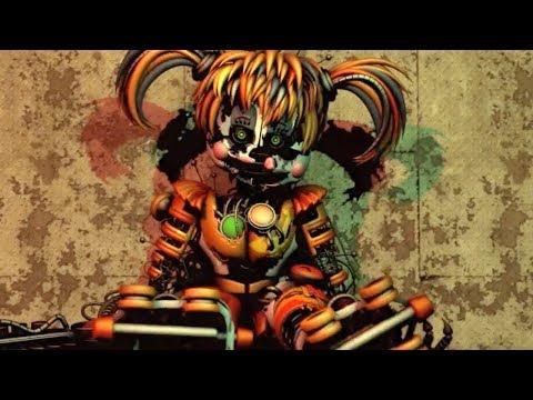 FNAF SFM: Scrap Baby Downfall (Five Nights At Freddy's Animation)
