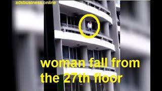 الصورة الأخيرة.. شاهد فيديو يوثق لحظة سقوط فتاة من أعلى عقار بسبب «سيلفي» | المصري اليوم
